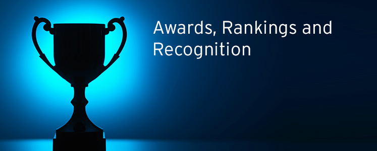 Awards, Rankings and Recognition