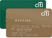 Citi® Meeting Card